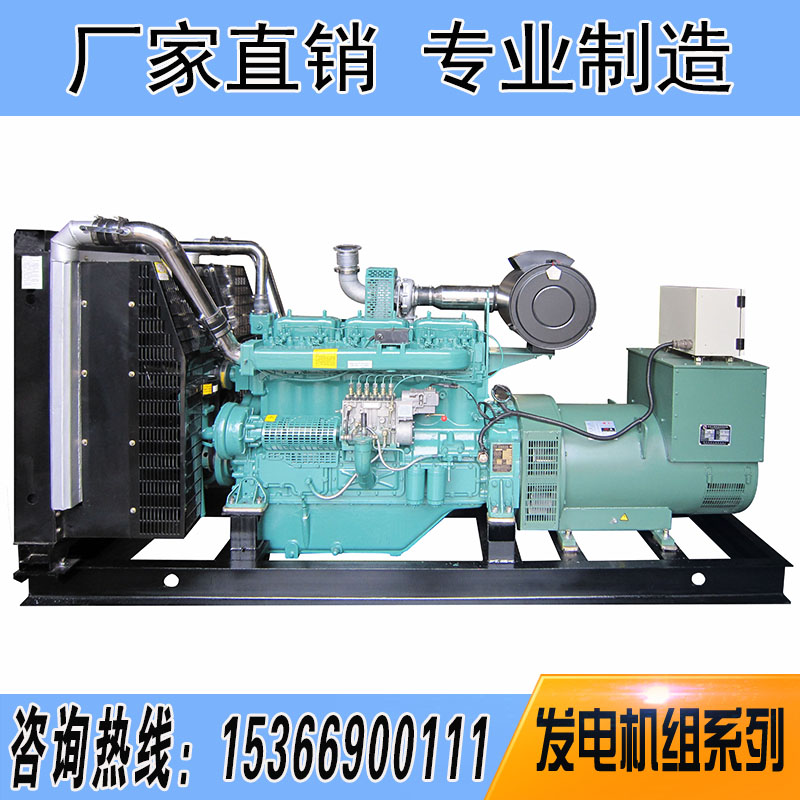 350KW无锡动力柴油发电机组-WD145TAD35