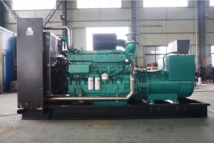 550KW玉柴柴油发电机组-YC6TD840-D31