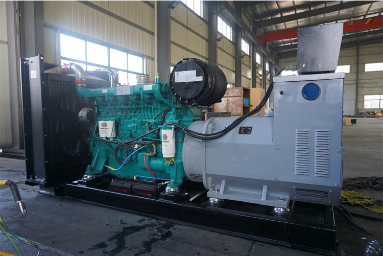 400KW潍柴蓝擎柴油发电机组-WP13D440E310