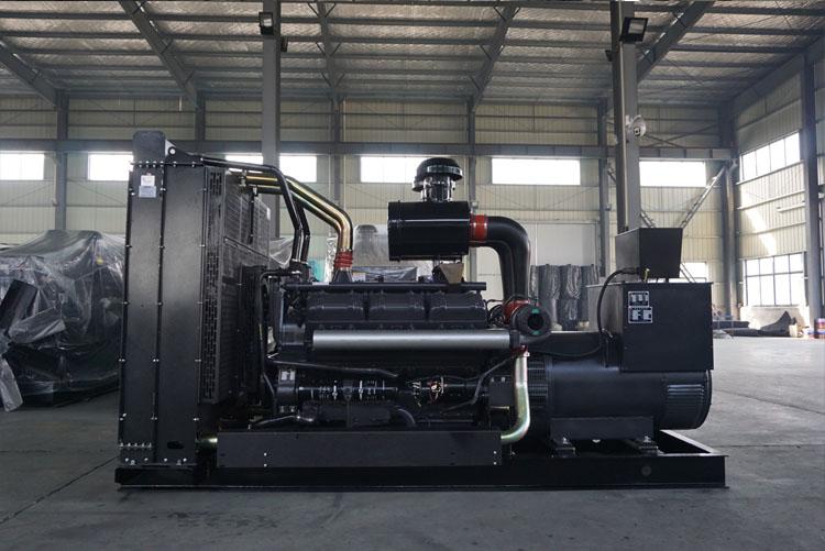300KW上柴正新柴油发电机组-12V135AZD