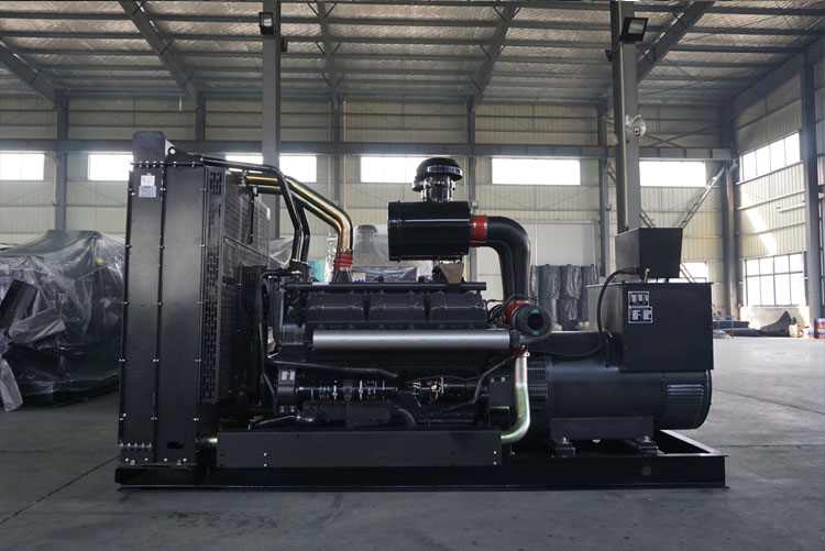 500KW上柴正新柴油发电机组-12V135BZLD-1