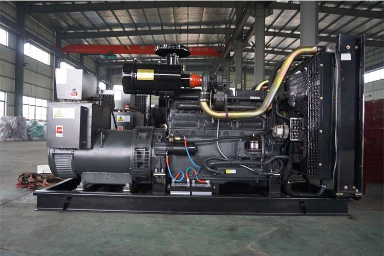 200KW申动柴油发电机组-SD227