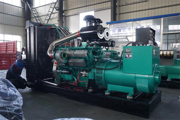 600KW乾能柴油发电机组-QN26H680