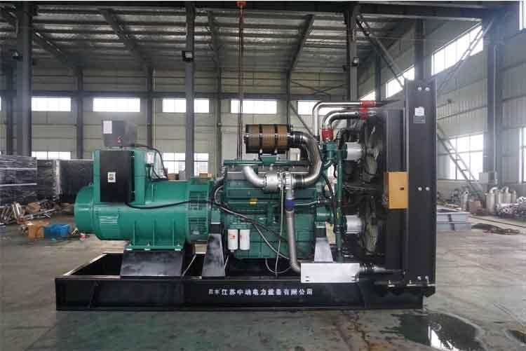 900KW南通股份柴油发电机组-NK296LM83