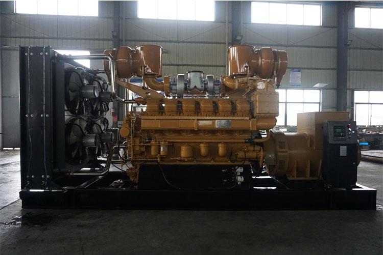 900KW济柴柴油发电机组-G12V190ZL1