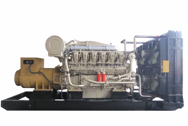 2000KW济柴柴油发电机组-H16V190ZL