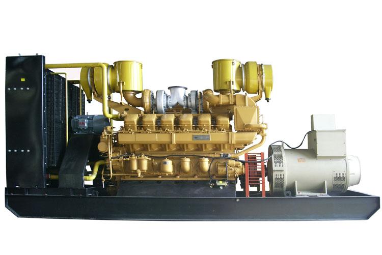 500KW济柴柴油发电机组-Z8V190